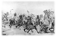 Nuttall's Cavalry Charge