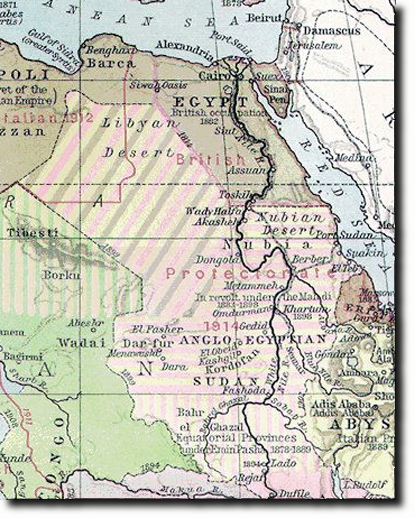 Middle East Egypt Maps - Map of egypt and uk