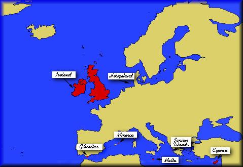 british empire clickable map