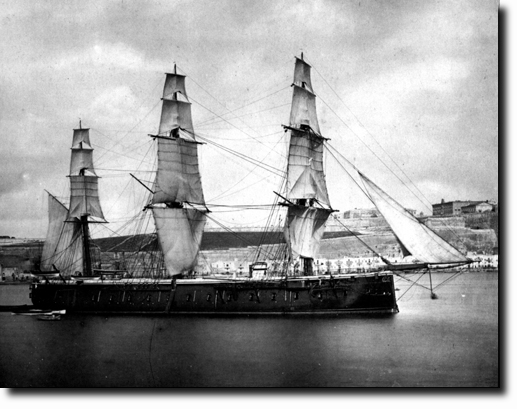 Naval Forces Of The British Empire Ships Ironclads Hms
