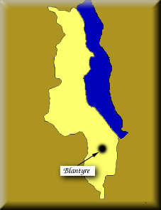map of Nyasaland