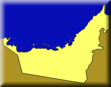 map of Trucial Oman