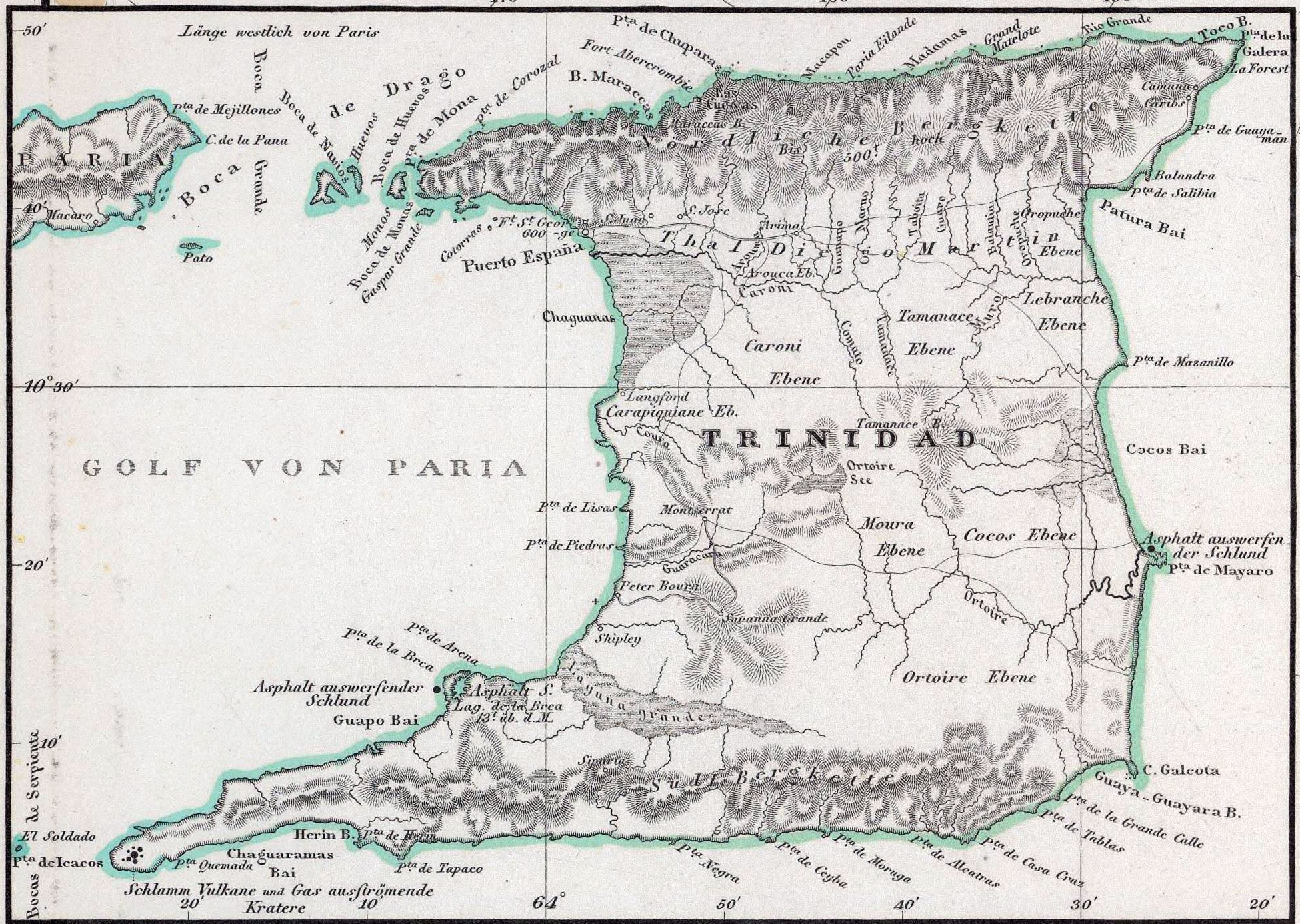 1842maptrinidad Trinidad Map Of Counties on washington map of counties, united states map of counties, kenya map of counties, taiwan map of counties, new mexico map of counties, florida map of counties, trinidad tobago map of wi, jamaica map of counties, england map of counties, ireland map of counties, los angeles map of counties,