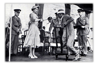 The Royal Visit - Aden 1954