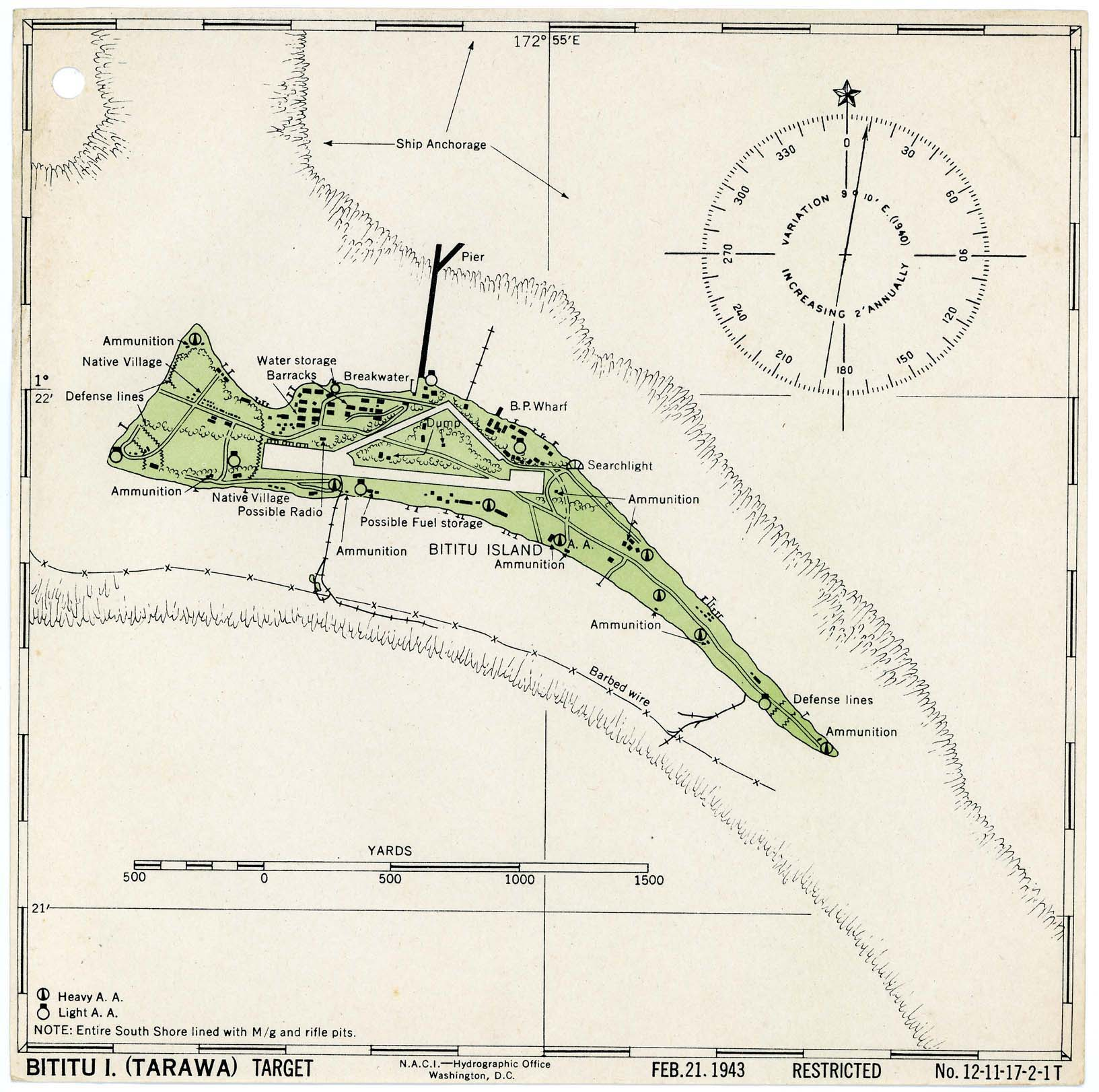 Gilbert And Ellice Islands Colony - tarawa atoll map