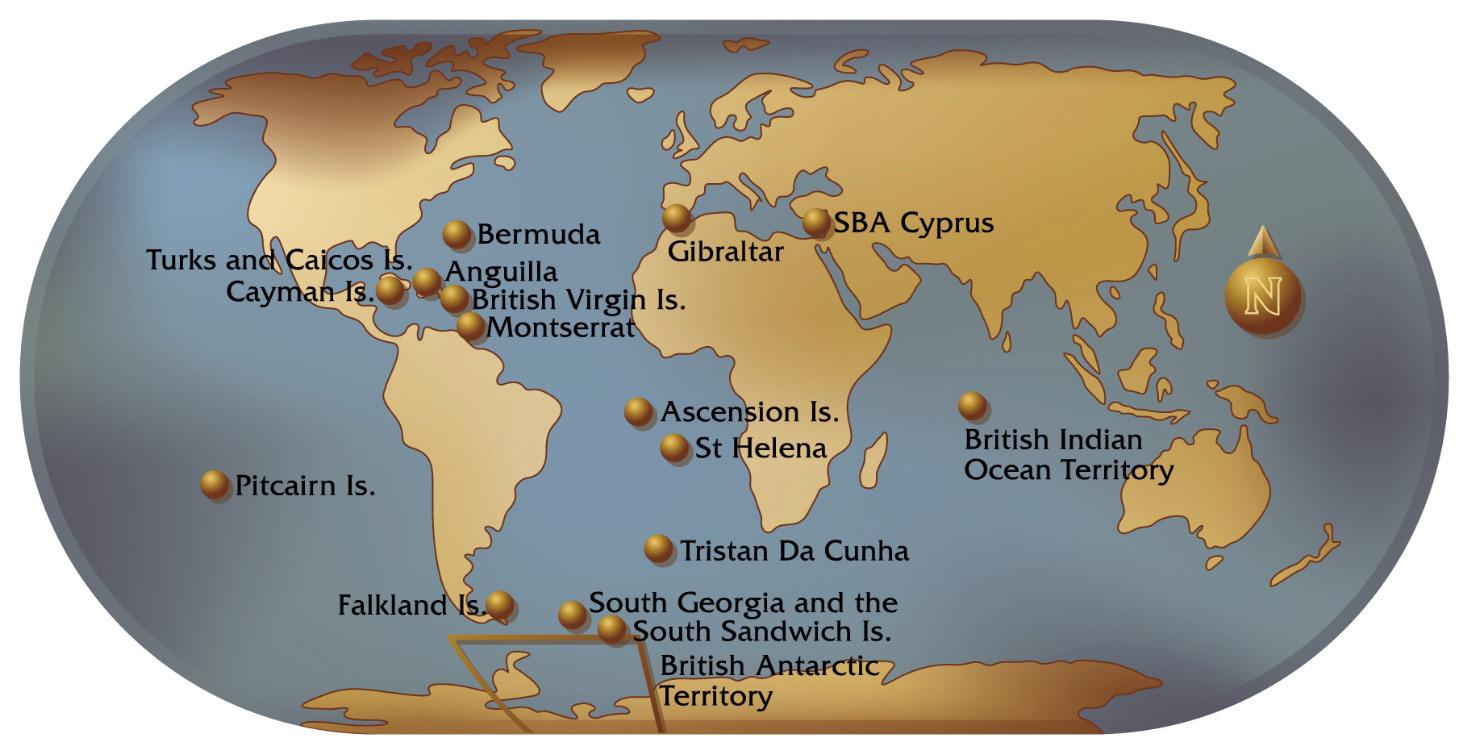 Today's UK Overseas Territories In Context