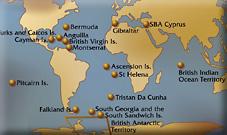 Map Of Uk Overseas Territories.Today S Uk Overseas Territories In Context