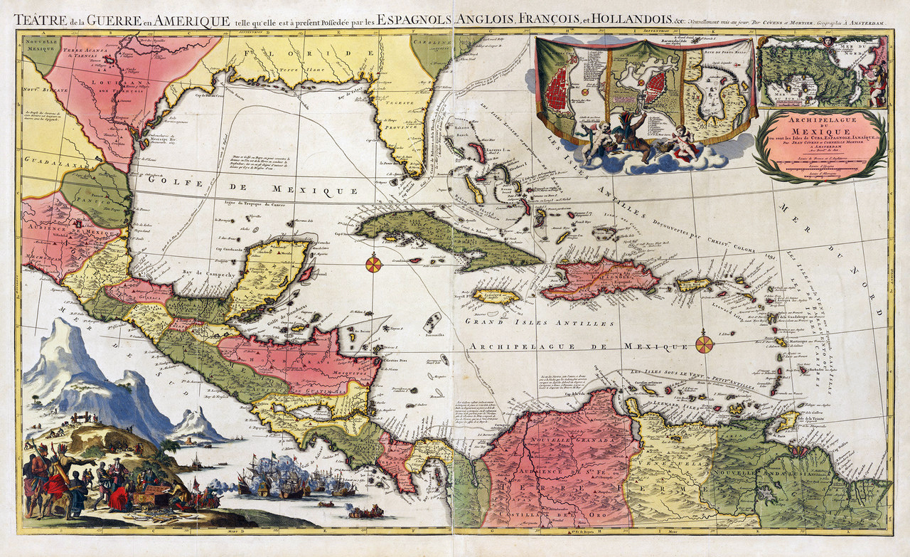 The British Empire In The Caribbean Maps - Caribbean maps