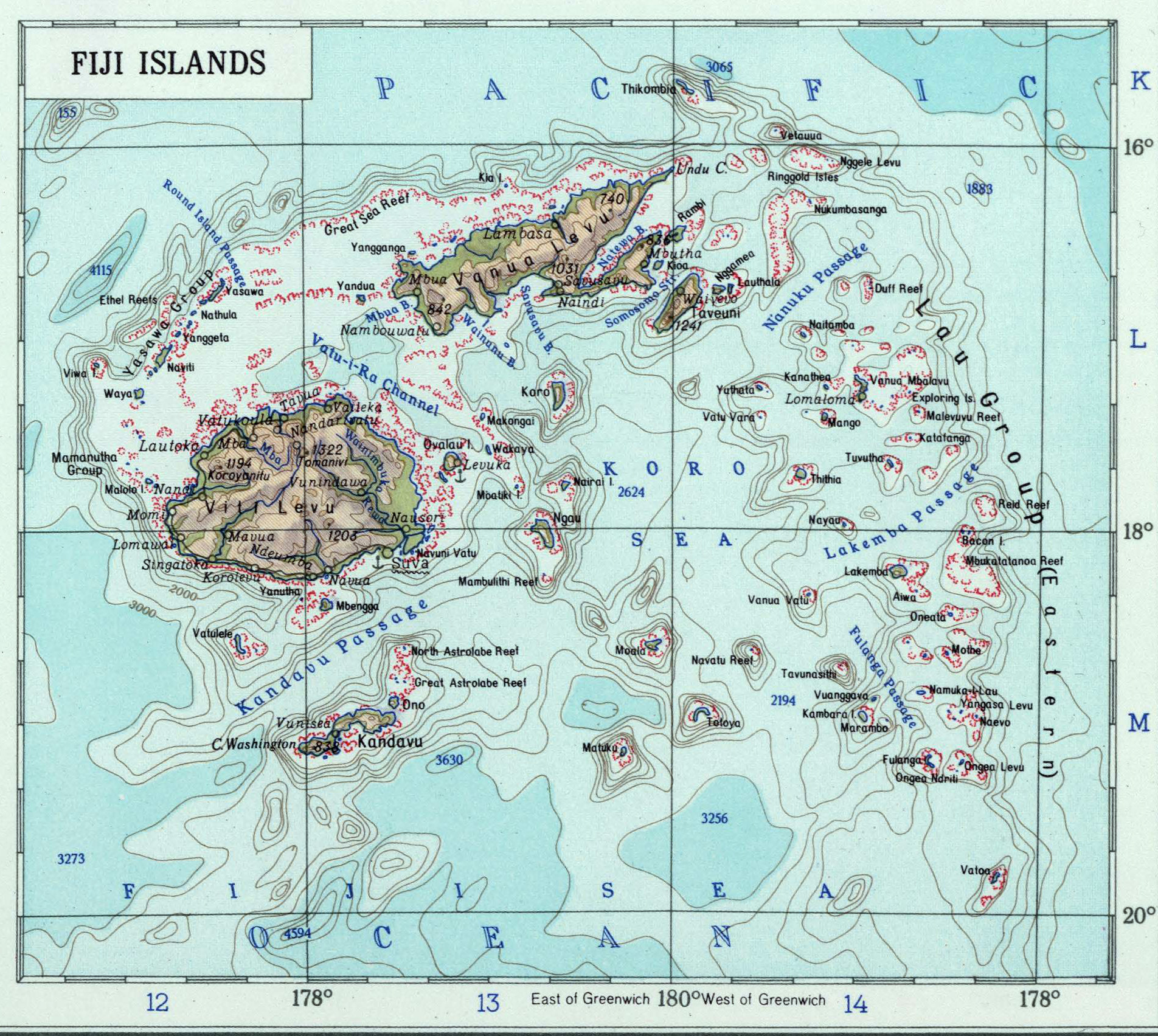 Fiji colony map of fiji 1967 gumiabroncs Images