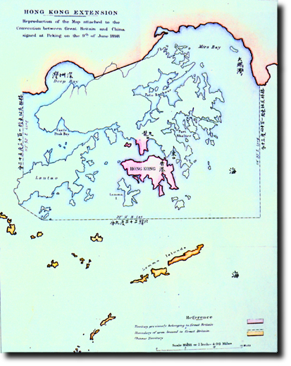 The Acquisition of the New Territories of Hong Kong