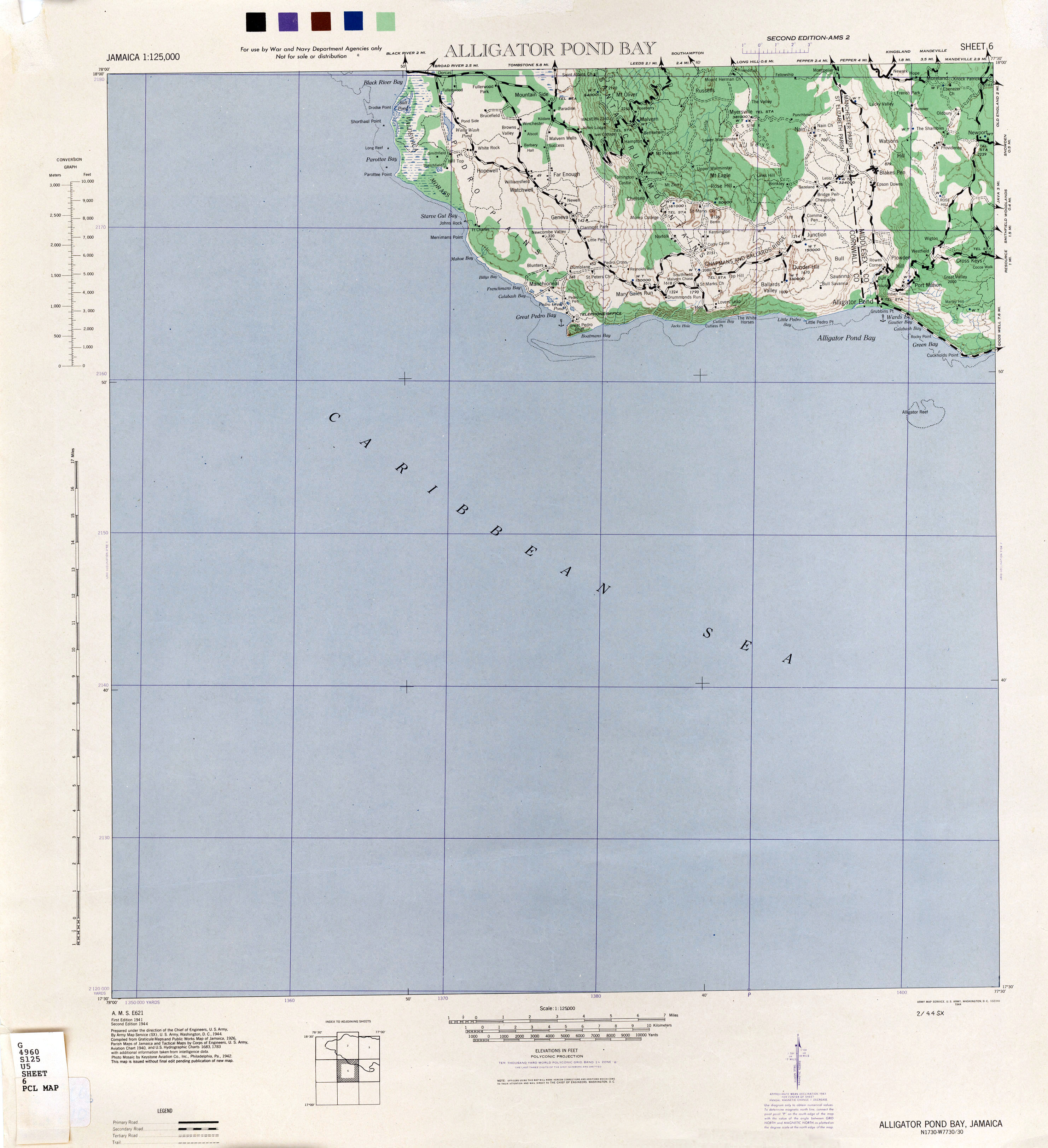 Jamaica Colony - Map of jamaica and us