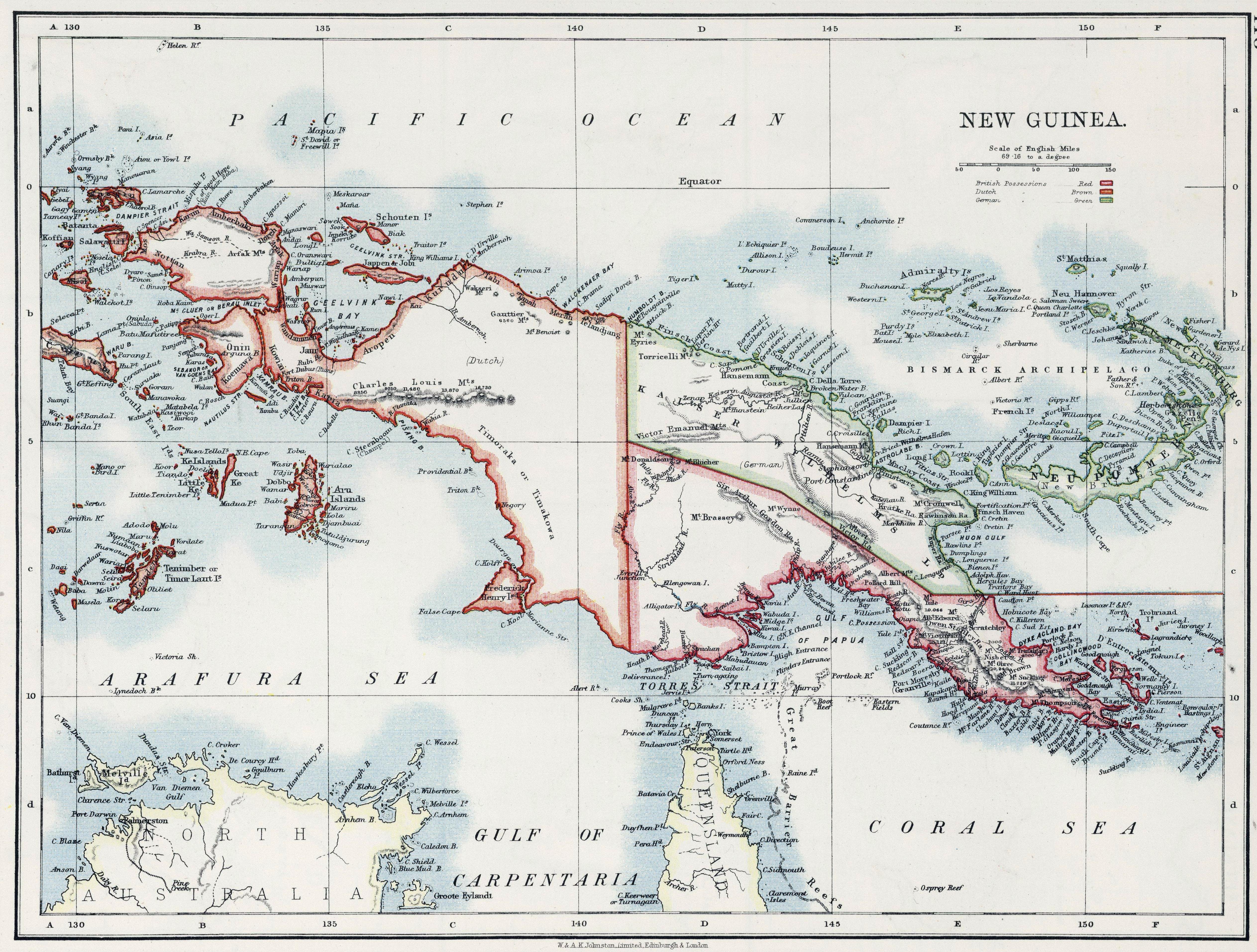 British New Guinea (Papua Territory)