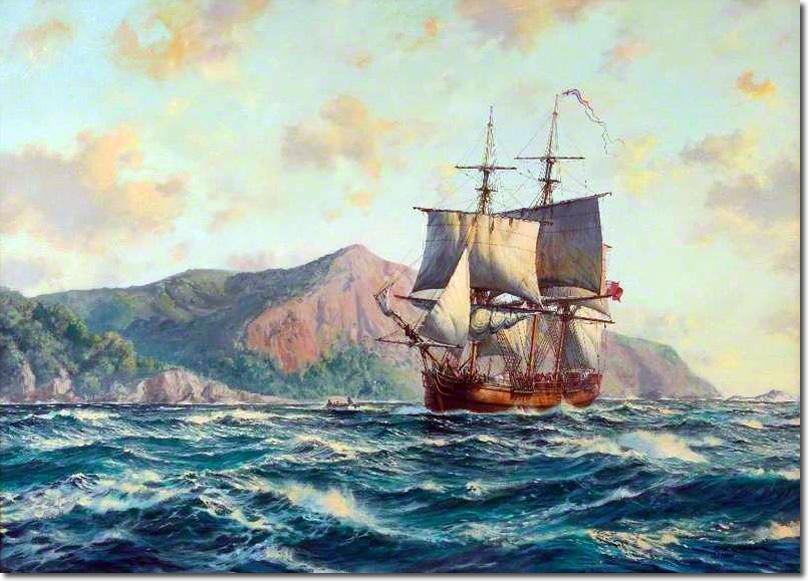 Pacific Pitcairn Island