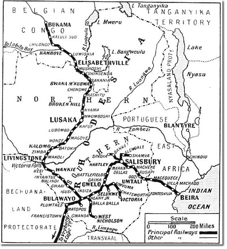 To War down the Zambesi 1914