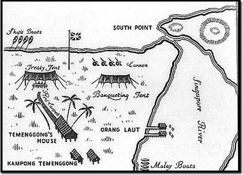 a splendid little colony  british singapore 1819