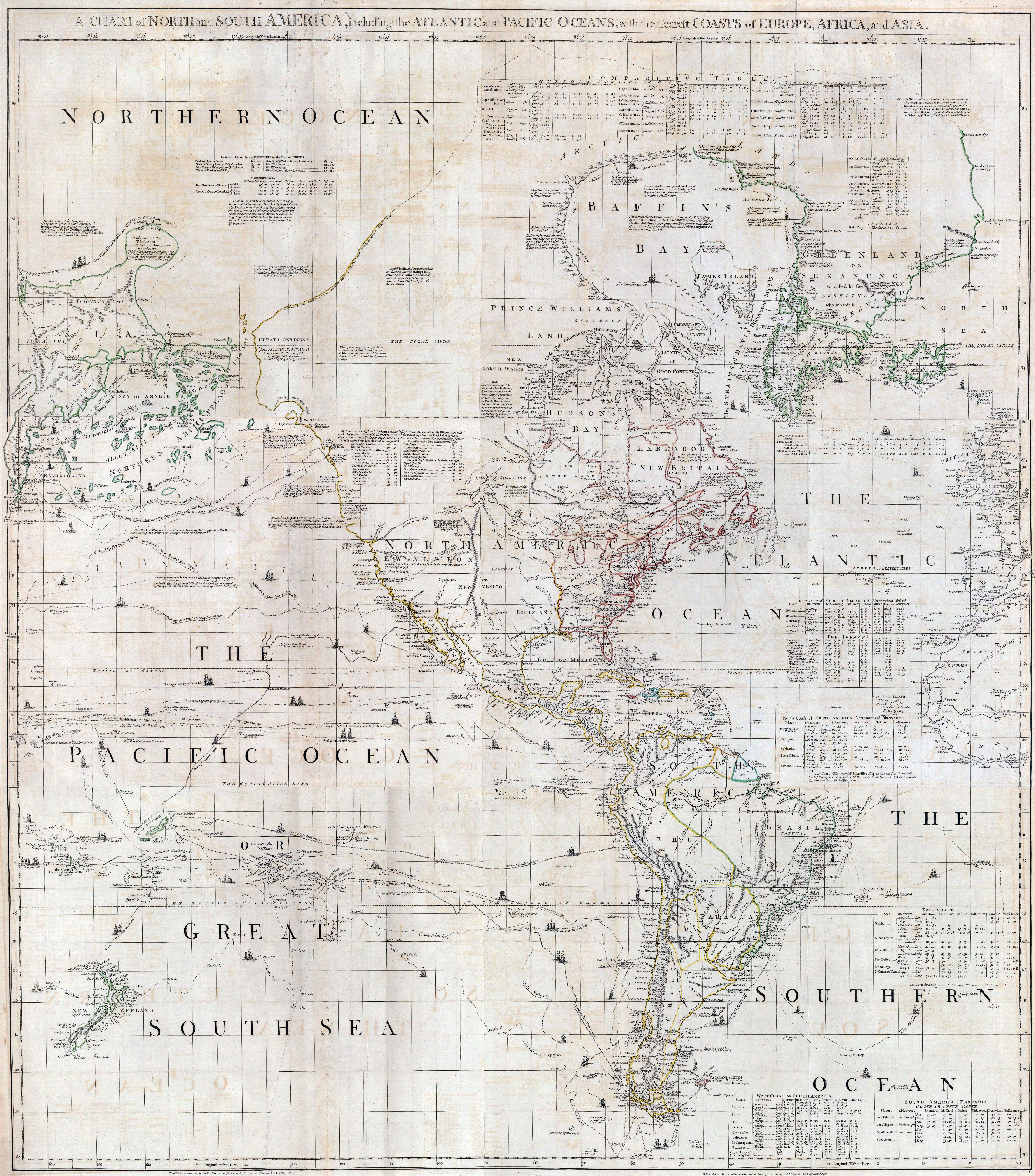 The British Empire And South America Maps