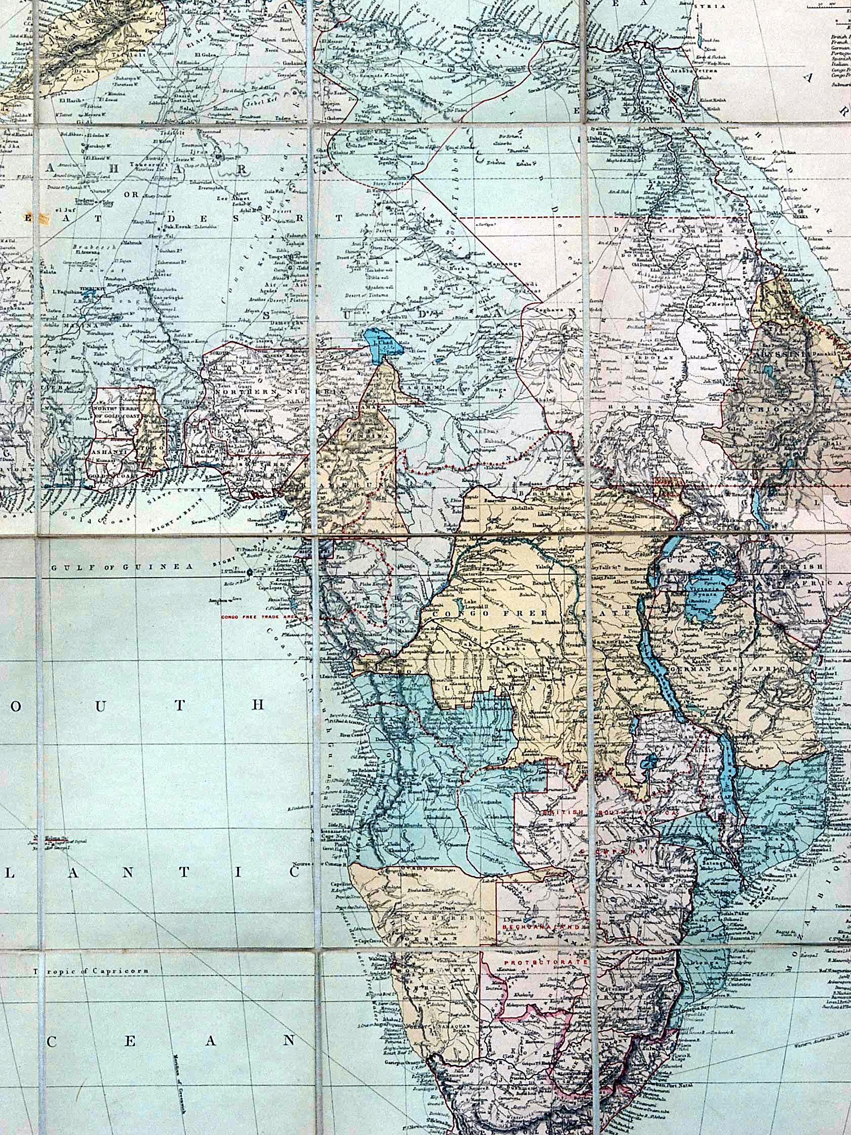 Africa and the British Empire Maps