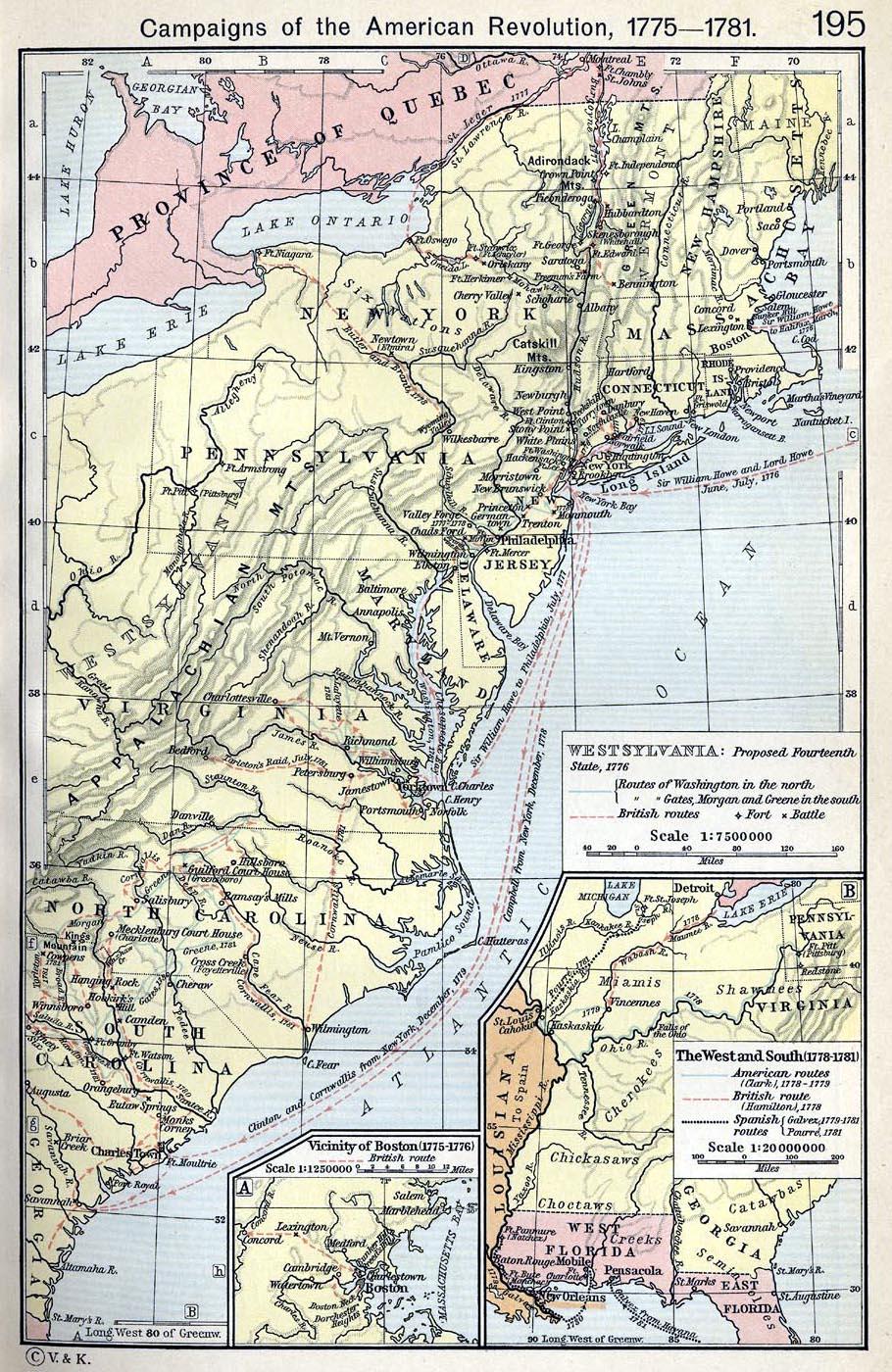 North America Maps - North america map 1700
