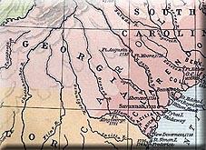 Map Of Georgia Colony.Georgia Colony