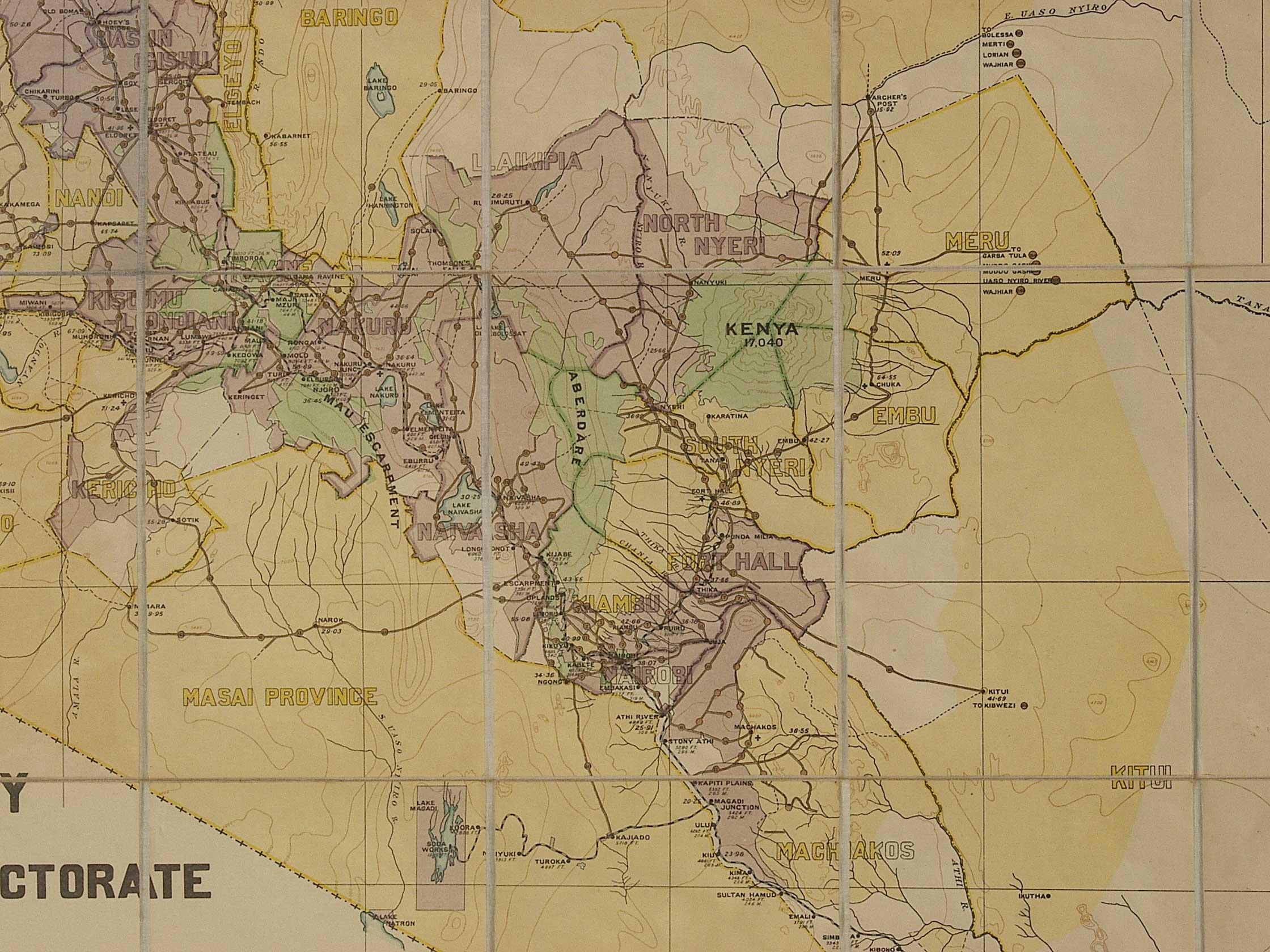 Whkmla history of kenya detail contemporary central kenya 1925 from britishempire gumiabroncs Choice Image