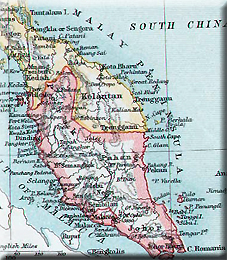map of Malaya