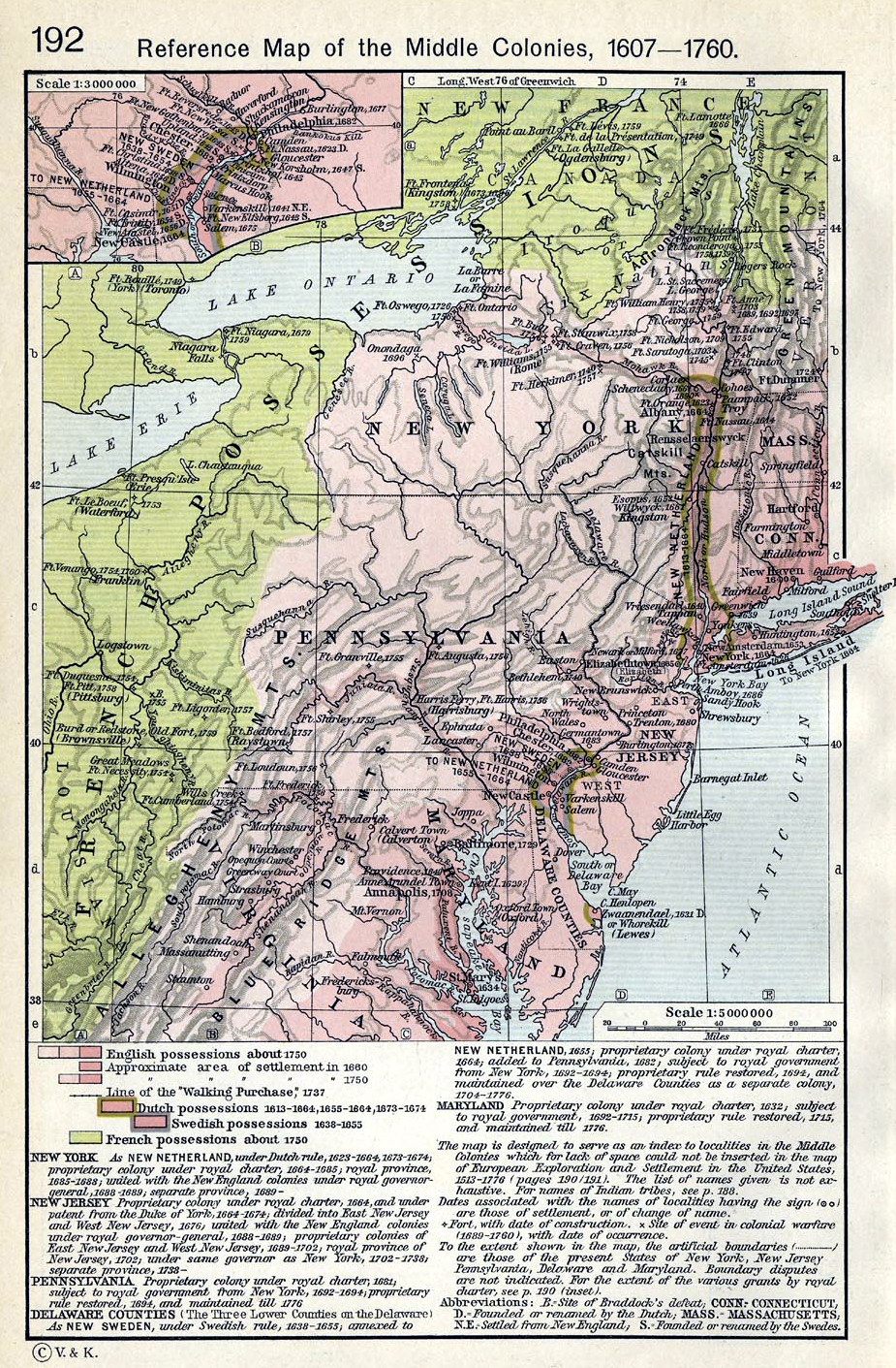 Delaware colony map of middle colonies thecheapjerseys Gallery