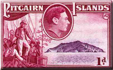 stamp of Pitcairn