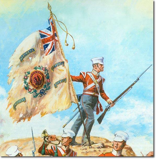 Image result for 31st foot regiment sikh wars