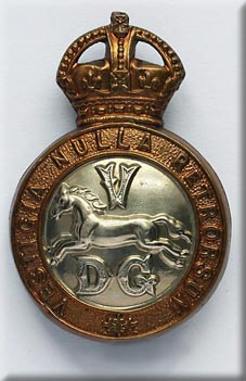 5th Dragoon Guards' Badge