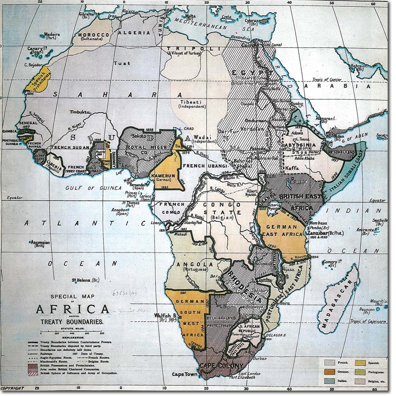 the misrepresentation of africa in treaty Situating international law in municipal legal systems in africa ii: pre-independence treaty obligations and the post-colonial state 3.