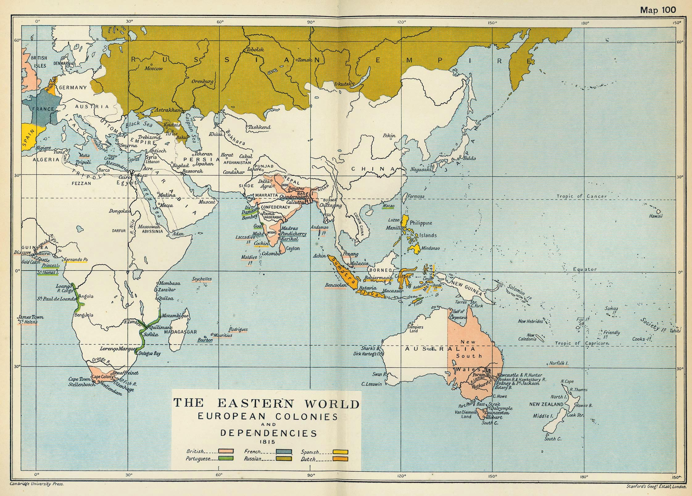 Map Of Uk 1500.The British Empire In Asia