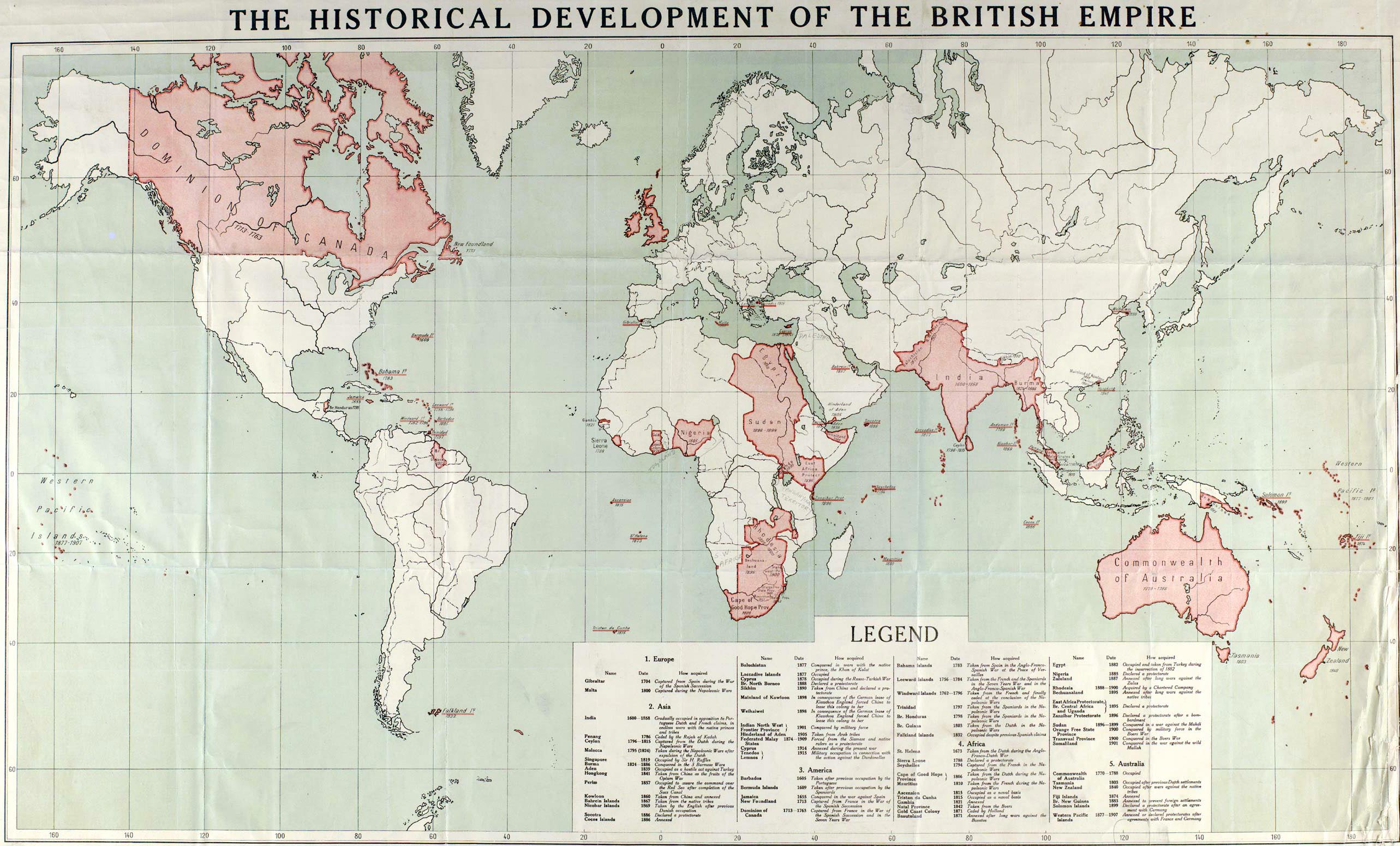 World maps british empire map 1915 gumiabroncs Images