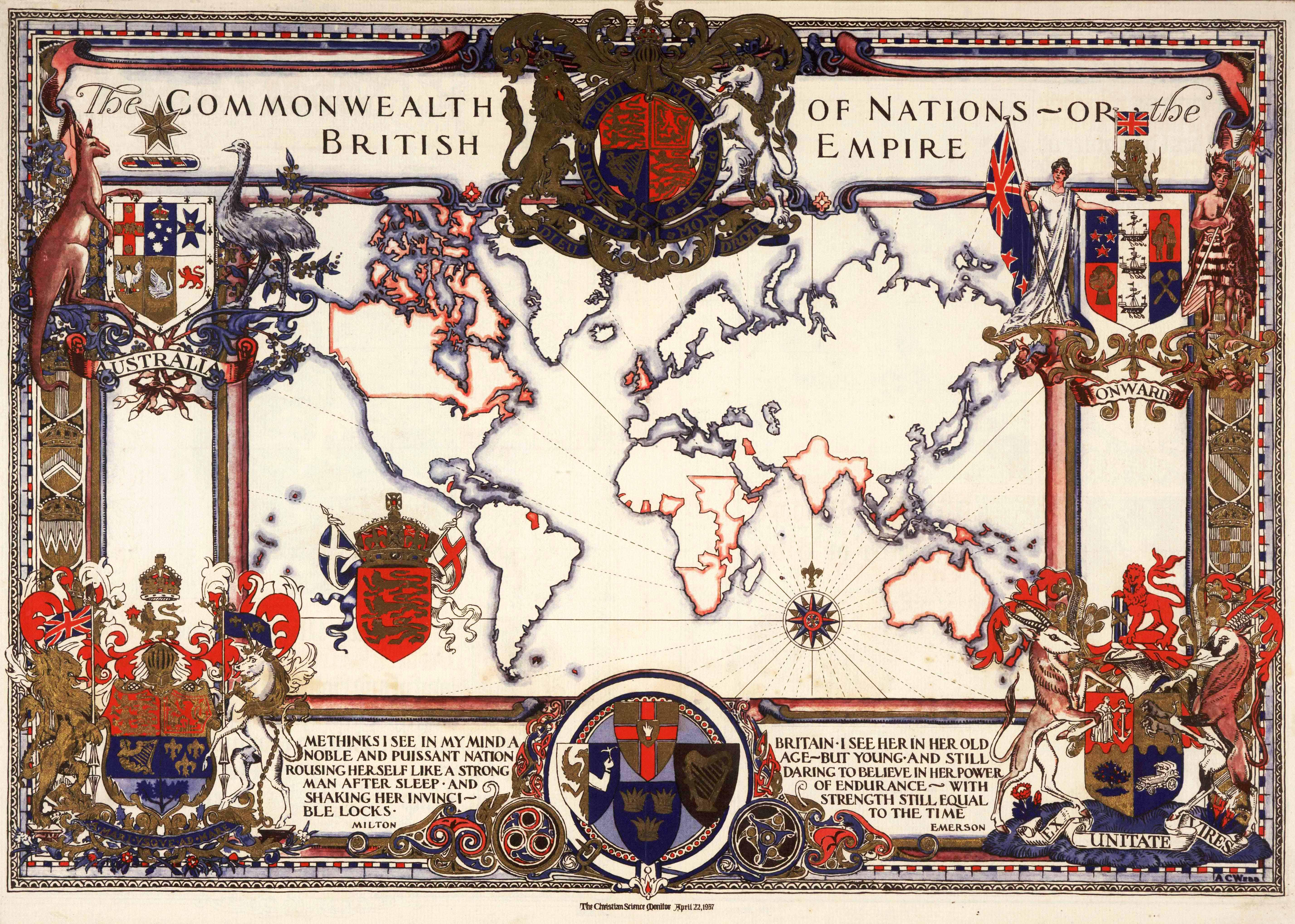 World maps british empire map 1937 gumiabroncs Gallery