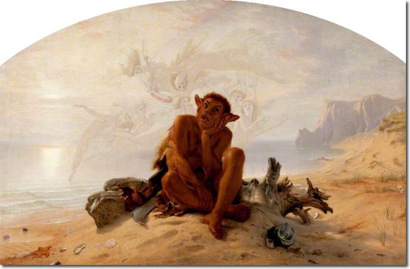 the historical significance of caliban in the tempest Revise and learn about the characters in shakespeare's play, the tempest with bbc bitesize ks3 english literature.