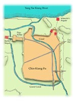 Chin Kiang Fu in Opium War