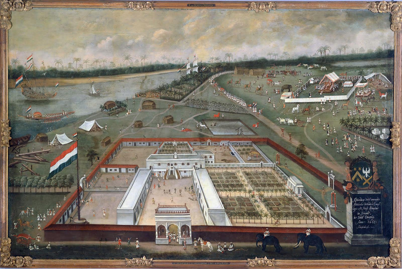 seventeenth century timeline dutch factory at hooghly