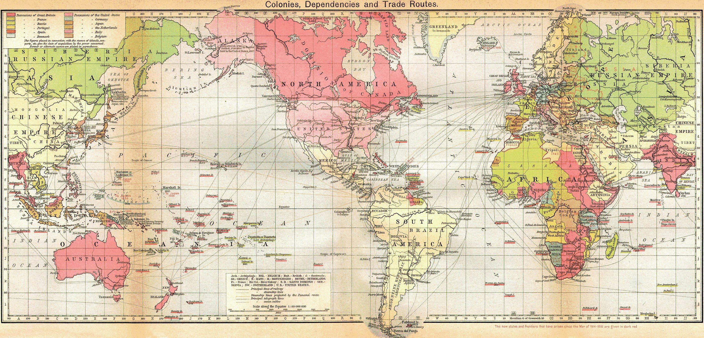 английские колонии сегодня
