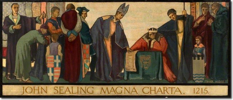 articles involving the barons 1215