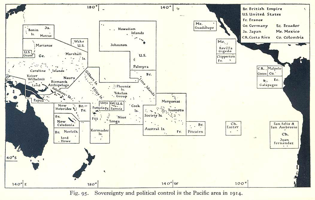 The British Empire in the Pacific and Australasia