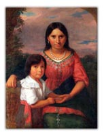 Pocahontas and Son