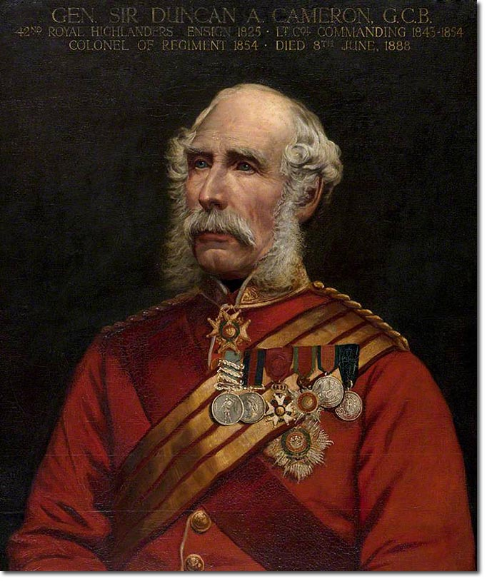 General Sir Duncan Cameron KCB
