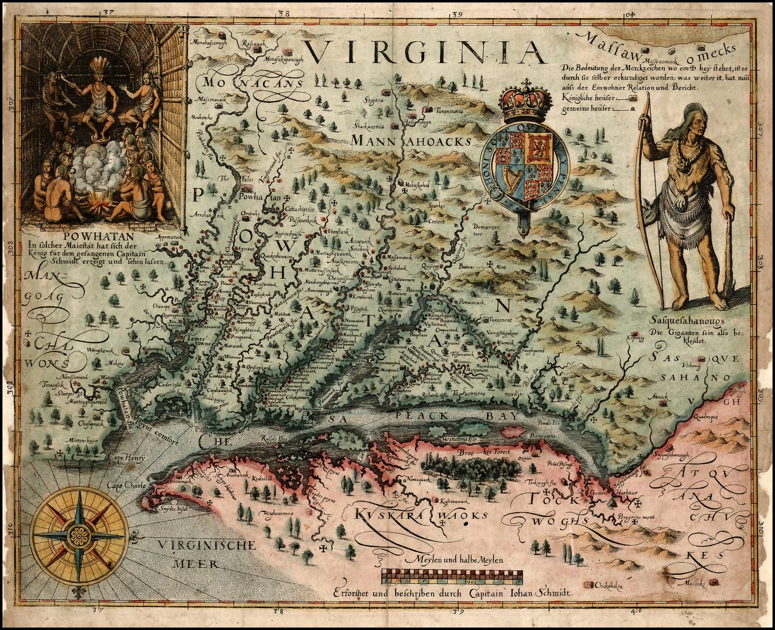 recreating history of english exploration in exchange between john smith and powhatan written from a Perhaps not surprisingly, in smith's own recounting of his adventures, powhatan offers him land, not women, in exchange for two great gunnes and a gryndstone (smith 163) [13] as smith temporarily exits the story, john rolfe enters, bringing with him an additional dose of sentimentalism.