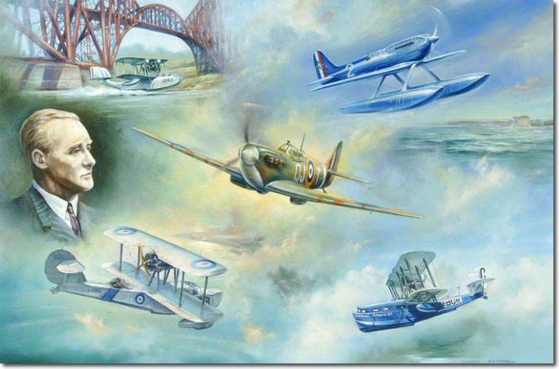 210458767a Nobody embodied the advances made by Britain s aerospace industry in the  interwar years than R.J. Mitchell. He pioneered innovative designs at the  ...