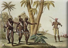 Slave Rebellion in Surinam