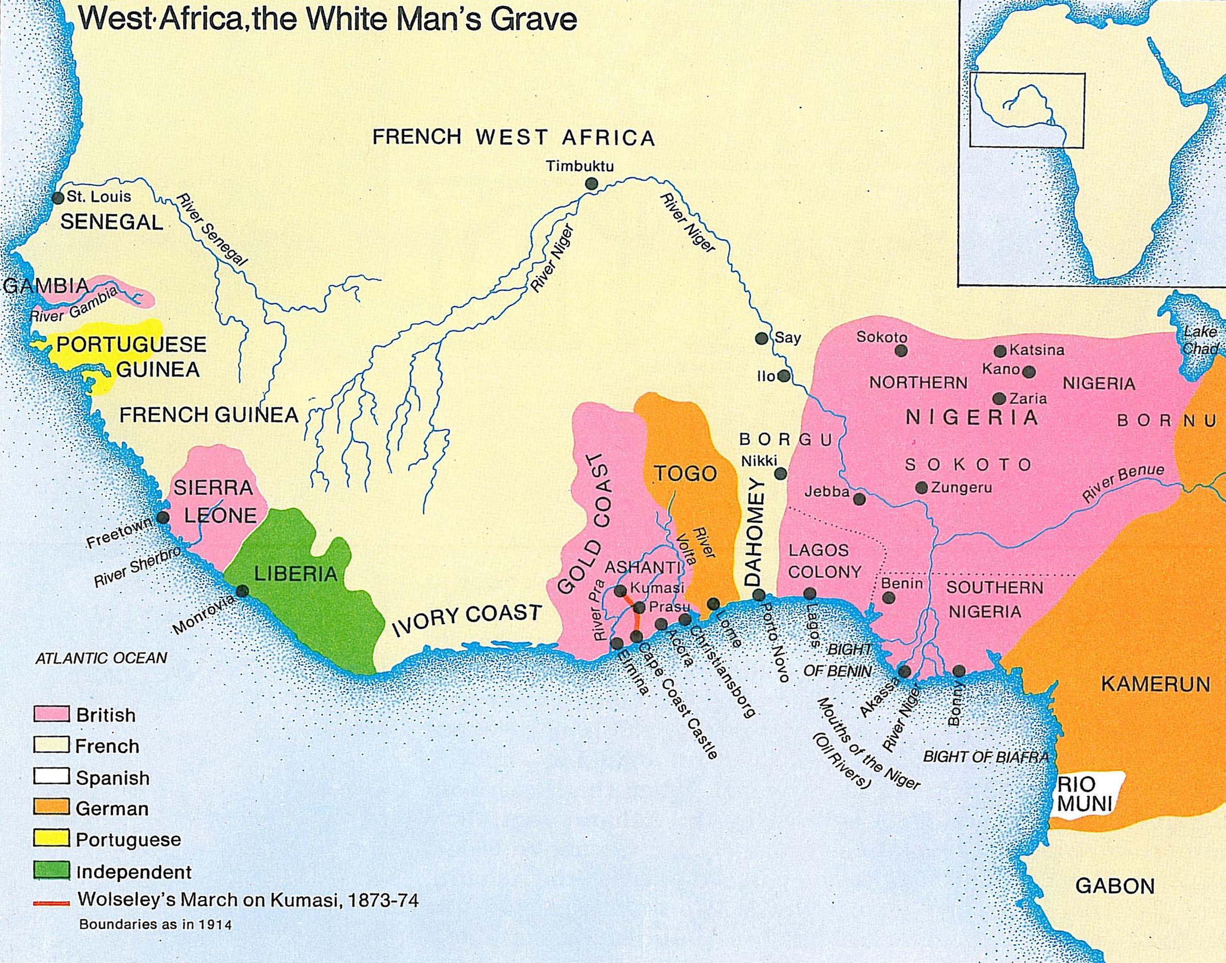 The British Empire in Africa